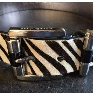 Michael Kors calf hair belt size small